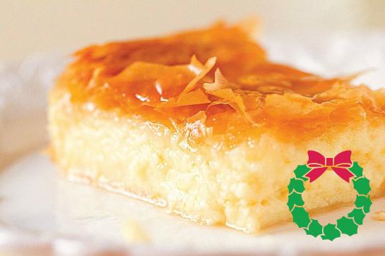 Holiday Desserts - Galaktoboureko