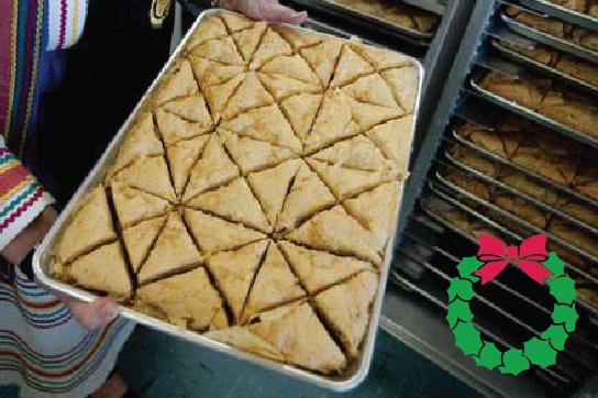 Holiday Desserts - Dozen Baklava