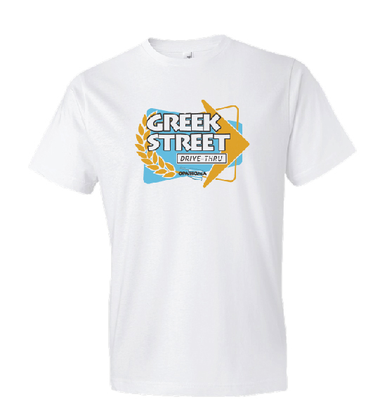 Greek Street Drive-Thru T-Shirt